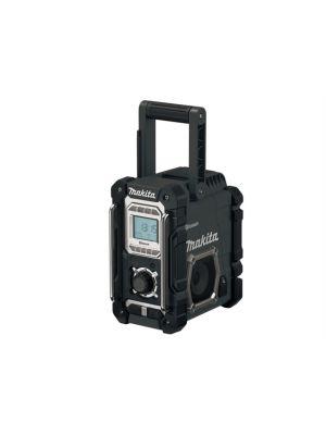 DMR106B Black Job Site Radio with Bluetooth 240V & Battery Powered Bare Unit