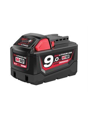 M18 B9 REDLITHIUM-ION™ Slide Battery Pack 18V 9.0Ah Li-Ion