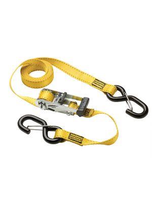 Ratchet Tie-Downs S-Hooks 3m 2 Piece