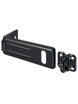 Wrought Steel Hasp Matt Black 115mm