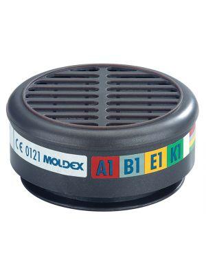 ABEK1 Gas Filter For 8000 Half Mask (Wrap of 2)
