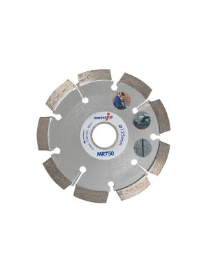 MR750 Mortar Raking Diamond Blade 125 x 22.2 x 6mm