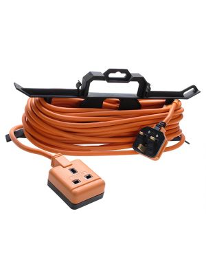 Garden Extension Lead 240 Volt on H Frame 15 Metre