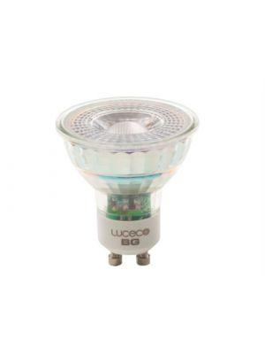 LED GU10 Glass Bulb Non-Dimmable 370 Lumen 5 Watt 2700K