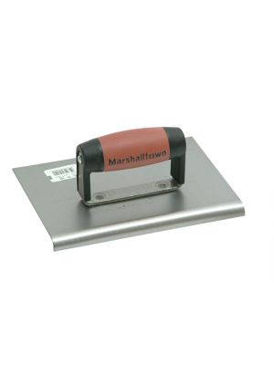 M120D Cement Edger Straight End Durasoft Handle 8 x 6in