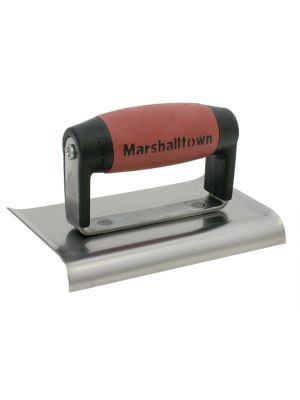 M136D Cement Edger Curved End Durasoft® Handle 6 x 3in