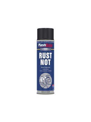 Rust Not Spray Gloss Black 500ml