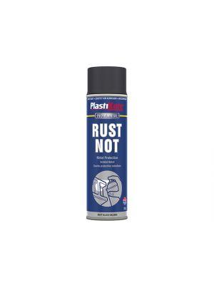 Rust Not Spray Matt Black 500ml
