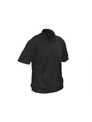 Black Quick Dry Polo Shirt - L (42-44in)