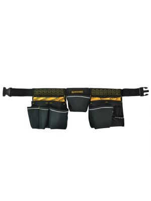 Contractor's Double Pouch Tool Belt