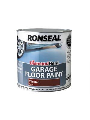 Diamond Hard Garage Floor Paint Tile Red 2.5 Litre