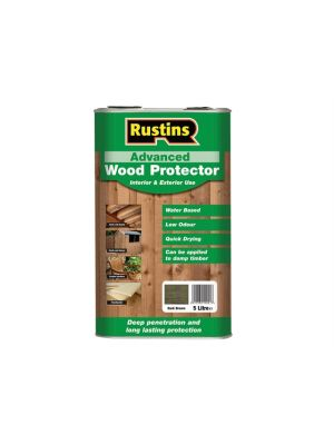 Quick Dry Advanced Wood Protector Dark Brown 5 Litre