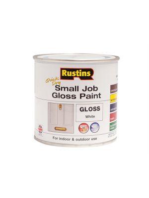 Quick Dry Small Job Gloss Paint White 250ml