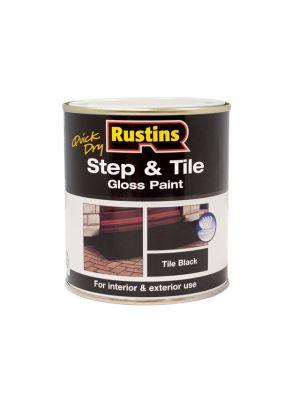 Quick Dry Step & Tile Paint Black 500ml