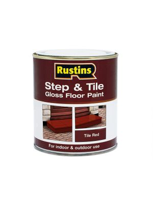 Step & Tile Paint Gloss Red 2.5 Litre