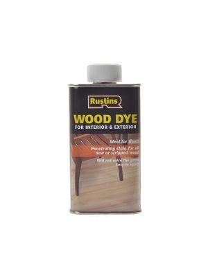 Wood Dye Brown Mahogany 250ml