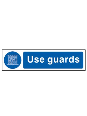 Use Guards - PVC 200 x 50mm