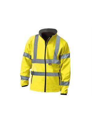Hi-Vis Yellow Soft Shell Jacket - XXL (52in)