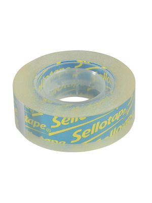 Sellotape Clear 18mm x 25m Blister Pack