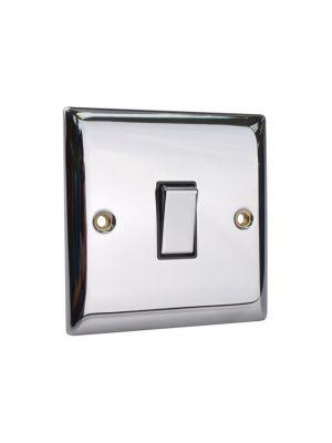 2-Way Light Switch 1-Gang Chrome