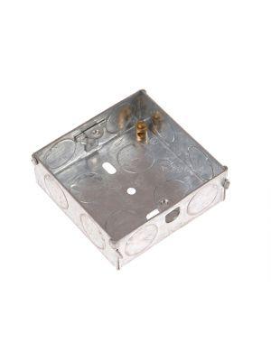 Metal Box 1 Gang 25mm Depth - Loose