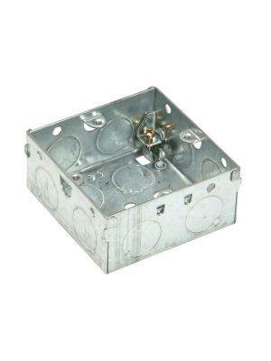 Metal Box 1 Gang 35mm Depth - Loose