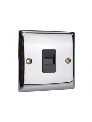 Secondary Telephone Outlet Chrome