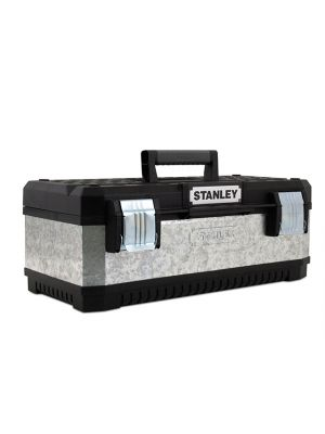 Galvanised Metal Toolbox 58cm (23in)