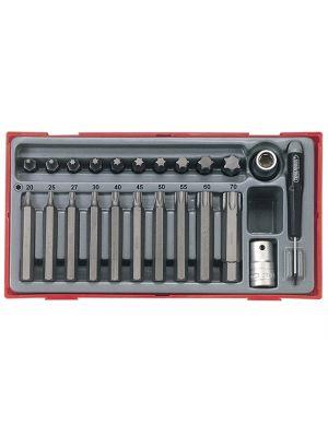 TTTX23 23 Piece TX Bit Socket Set