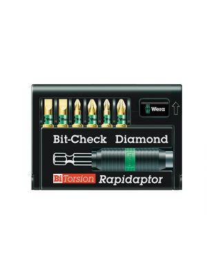 Bit-Check BiTorsion Diamond PZ, PH, SL Set of 7 Carded