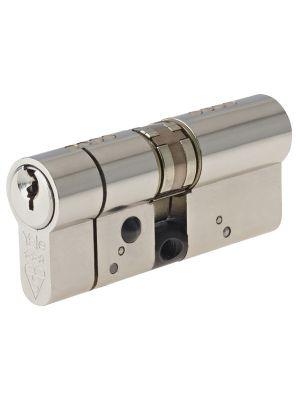 Anti-Snap Platinum Euro Cylinder 55/40 (95mm) Bright Nickel
