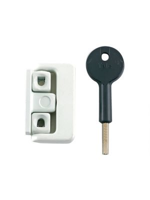 8K101 Window Latch Electro Brass Finish Visi