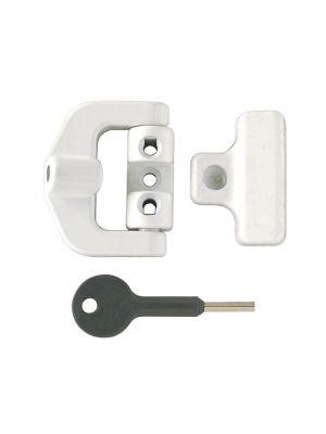 8K123 PVCu Window Lock White Finish