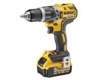 DCD796P2 XR Brushless Compact Hammer Drill 18V 2 x 5.0Ah Li-Ion