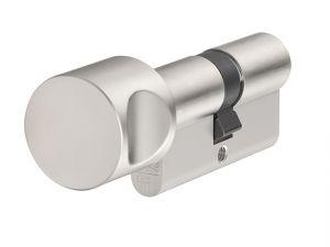 KE60NP Euro Thumbturn Cylinder Nickel Pearl Z30mm / K45mm Box