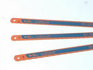 3906 Sandflex Hacksaw Blades 300mm (12in) Pack 3 (18 24 & 32tpi)