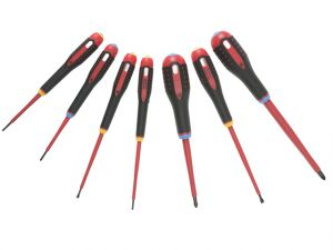 BE-9888S VDE ERGO™ Screwdriver Set of 7 SL/PZ