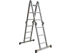Multi-Position Folding Ladder with Platform