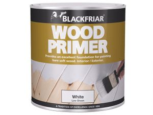 Wood Primer White 1 Litre