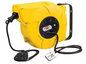 Automatic Cable Reel 240 Volt 16+2 Metre 13 Amp Safety Cut Out
