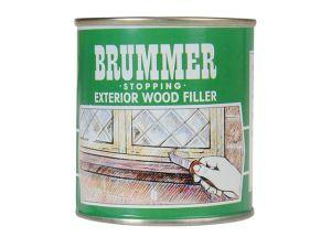 Green Label Stopping Exterior Wood Filler 700g Mahogany