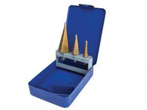 Step Drill Set 4-32mm, 3 Piece