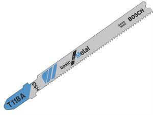 T118A Jigsaw Blade 1 x Pack of 5 Metal