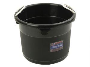 Muck Bucket - Black 39 Litre     165245