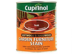 Softwood & Hardwood Garden Furniture Stain Teak 750ml