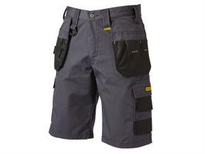 Cheverley Lightweight Grey Polycotton Shorts Waist 34in