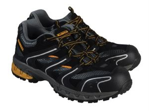 Cutter Safety Trainers Black UK 12 Euro 47