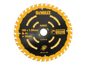 Cordless Extreme Framing Circular Saw Blade 165 x 20mm x 40T