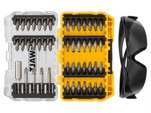 DT70703 Screwdriving Set, 47 Piece + Safety Glasses