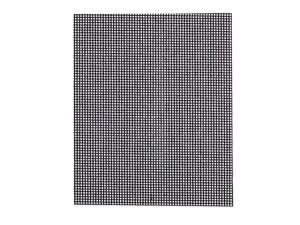 1/4 Mesh Sanding Sheets Medium/Fine 80 Grit (Pack of 5)